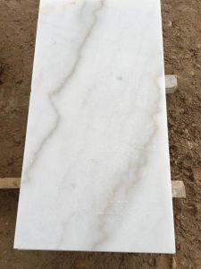 De opgepoetste Witte Marmeren Tegel van China Carrara voor de Muur van de Vloer (yy-VCWT)