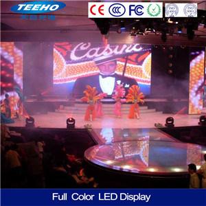 P3.91 piscina cheia de cores painel do ecrã LED
