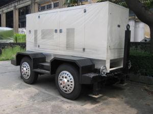 Diesel van Cummins van het Type van aanhangwagen Mobiele Generator 90kVA 72kw