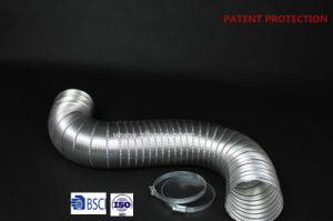 Tubo de alumínio flexível Semi-Rigid com braçadeiras para o aquecedor (4 x 2, 4 Parafusos)