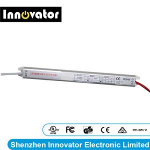 Alimentazione elettrica ultrasottile della casella chiara di DC12V 1.5A 2A 3A 4A 5A LED