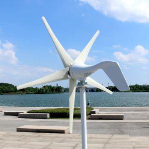 Wind-Turbine des Wind-400W des Generator-12V 24V mit 3 Schaufel-oder 5 Schaufel-Straßenbeleuchtungs-Garten-Beleuchtung für Hauptgebrauch