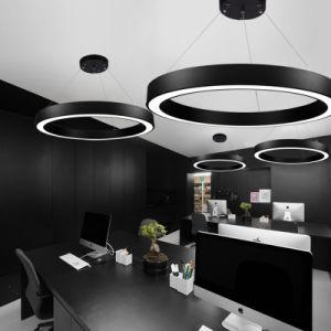 Diâmetro do anel redondo de tamanho personalizado de forma linear de LED de luz