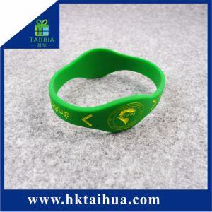 Braccialetto promozionale speciale del silicone del regalo, Wristband di figura della vigilanza, elastico, vigilanza con il marchio di Debossed