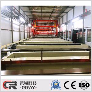 De galvaniserende het Anodiseren van het Aluminium van de Apparatuur Machine van de Oppervlaktebehandeling van de Lijn
