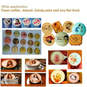 Fokus-Plätzchen-Schokoladen-Kaffee-Nahrungsmitteldrucker mit Sonderpreis