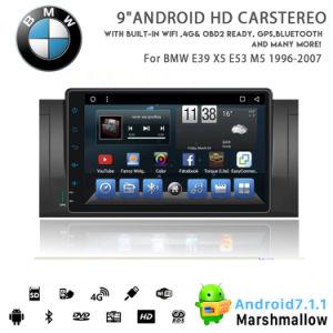 Huit coeurs Vshauto Android 8.1 lecteur de DVD de voiture pour BMW E39 X5 E53 M5 1996 2007