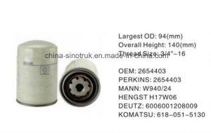 Воздух высокого качества масла фильтры для воды в топливе Perkins 2654407 H19W04
