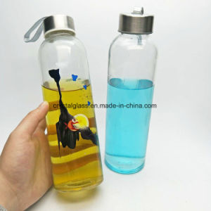 500ml Voss Form-Glasmineralwasser-Flasche mit Metallschutzkappe