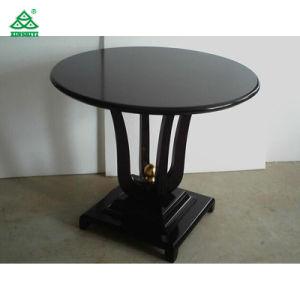 Hecho a mano en madera de roble mesa de café del hotel de estilo moderno más vendidos