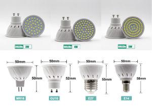 Haute puissance Gu5.3 E27 E14 MR16 lampe LED GU10 Cup 3W 4W 5W Spot à LED