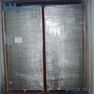 La cascata del chiarore di formato standard del magazzino ha saldato il Decking d'acciaio galvanizzato della rete metallica di memoria del metallo per racking del pallet