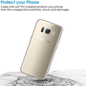 Samsungギャラクシーノート9の柔らかいケースのための新しい到着のゆとりの箱TPU