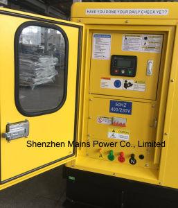 22kVA Perkin Generador Diesel insonorizado Alojamiento MP22e generador de Perkin