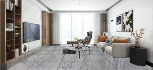 tegel van de Vloer van het Porselein van de Keramiek van de Oppervlakte van de Kleur van 600*600mm de Grijze Glanzende Volledige Verglaasde