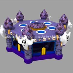 Nouveau design Aoqi haute Halloween Inflatable Whack a mole de jeu pour la vente (AQ01864)