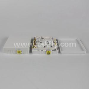 Caja de escritorio de terminales de fibra óptica en FTTH/FTTX RoHS cumple Tks-1806-02GB