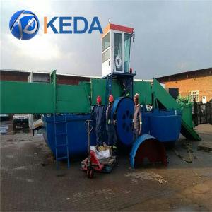 Mietitrice acquatica automatica completa alimentata del Weed del motore diesel di Keda