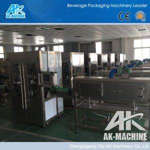 Deux ans de garantie manchon rétractable manchon rétractable de la machine d'étiquetage /Systèmes d'étiquetage (AK-S150)