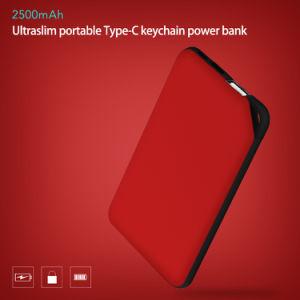 Coloridas recargable 2500mAh de energía de la tarjeta de crédito Banco de regalo de promoción