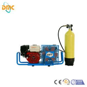 2,2 kw y 300 bar 4500psi pistón portátil Mini Electric/gasolina/diesel de alta presión de refrigeración de aire Paintball Pcp/Buceo/Fuego respirando la bomba de aire compresor de aire