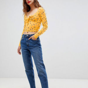 レディース花のBatwingの袖のワイシャツのブラウス