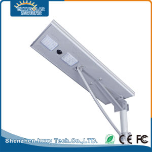 Водонепроницаемая IP65 для использования вне помещений - все в одном 60Вт Светодиодные лампы на улице солнечной энергии для движения по автостраде