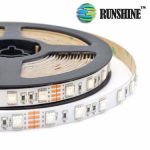 De programmeerbare Digitale RGB Strook van Kleur 5050 leiden 12VDC
