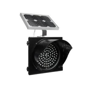 Precio de fabricante de la señal de tráfico de 200mm precaución luz parpadeante