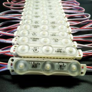 L'iniezione IP68 del chip dei 3 LED impermeabilizza la lettera della Manica del modulo del LED