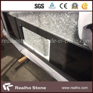 Schwarze Granit-Stein-Tisch-Oberseite/Countertops für Küche /Bathroom