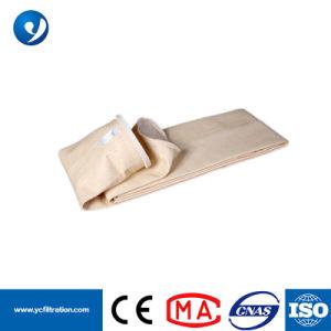 Sacchetto filtro a temperatura elevata della casella della fibra di PPS del sacchetto filtro della polvere