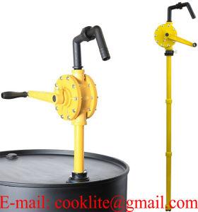 무쇠 회전하는 드럼 펌프 손 기름 이동 펌프