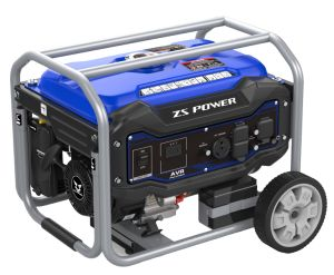 8.5kw/60Hz AC Generator Zongshen pH9500b van de Benzine van de Enige Fase de Draagbare