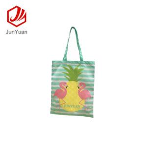 Tendance Junyuan personnalisé Sac shopping coton organique recyclable