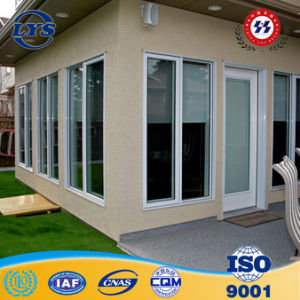 Ventana corrediza de aluminio residencial con grill