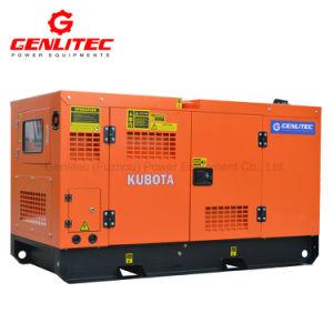 Super Stille 8kw/10kVA Kubota Dieselmotor in drie stadia Genset