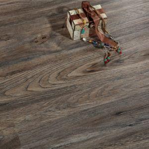 Нажмите кнопку Valinge деревянной цветной водонепроницаемый пластиковый камня зубчатым ремнем Пол Spc Lvt EVA Rvp IXPE самоклеящаяся виниловая пленка ПВХ жесткий упор лежа на полу