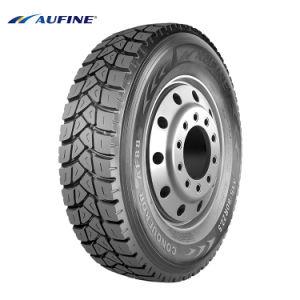 Aufine 13r22.5 315/80R22.5 Une bonne durabilité Extra-Thick flanc des pneus de camion avec