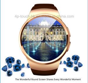 IPSの円形スクリーンK18が付いているEleglant Bluetoothの腕時計の携帯電話