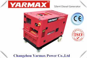 Yarmax M Hot Sale ! Générateur diesel silencieux à démarrage électrique 6kVA