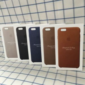iPhone Xのための元の革全中継の携帯電話の箱を収容する携帯電話