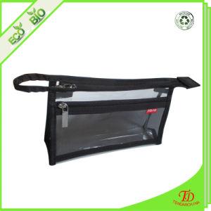 À prova de água portátil multifuncional PVC transparente claro espelho cosmético bag bolsa de lavagem de artigos de higiene do organizador de viagens