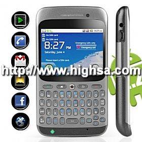 Poseidon - Android Market 2.2 Touchscreen Qwerty UM8 Smart Cell Phone (duplo SIM, WiFi, GPS)