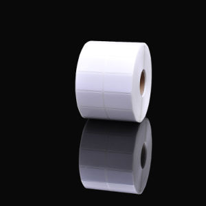 Масло доказательства клейкой этикетки штрих-кодов рулон Термочувствительных бумажный ярлык