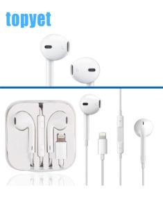 Earpods original con un rayo el conector de auriculares intrauditivos auriculares auriculares para todos los accesorios para teléfonos móviles