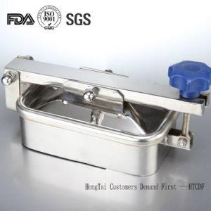 Coperchio di botola rotondo del serbatoio rettangolare dell'acciaio inossidabile del commestibile con la guarnizione del silicone