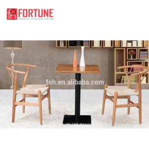 Encosto de couro poltrona madeira restaurante casual cadeiras de jantar de couro