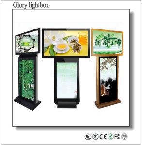 Giocatore dell'interno della visualizzazione di LED del Mobile del doppio aeroporto laterale per fare pubblicità