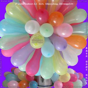 De rubber Ballon van het Water voor de Strijd van het Spel van het Water van Jonge geitjes